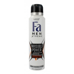 Fa Men Xtreme Invisible Power 72H Dezodorant w sprayu 150ml