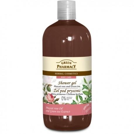 Green Pharmacy Żel pod prysznic Róża Piżmowa & Zielona Herbata