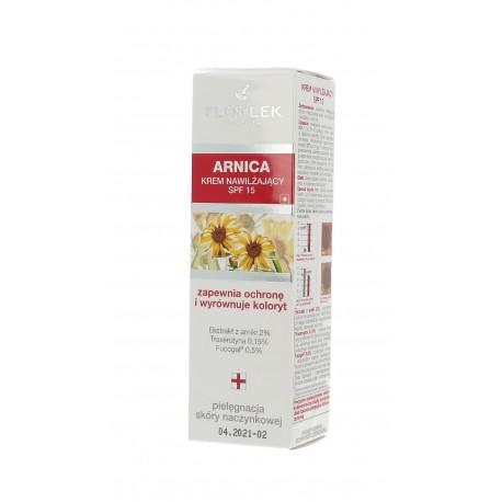 Floslek Pharma Arnica Krem nawilżający i wyrównujący koloryt SPF 15  50ml