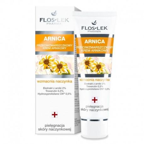 Floslek Pharma Arnica Krem przeciwzmarszczkowy  wzmacniający naczynka