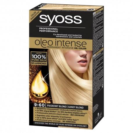 Schwarzkopf Syoss Farba do włosów Oleo 9-60 piaskowy blond  1op.