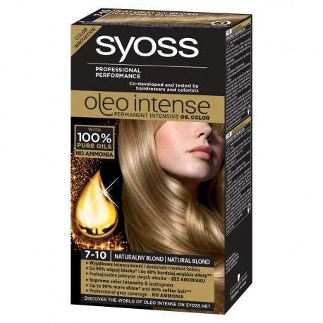 Schwarzkopf Syoss Farba do włosów Oleo 7-10 naturalny blond  1op.
