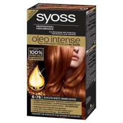 Schwarzkopf Syoss Farba do włosów Oleo 6-76 złocista miedź  1op.