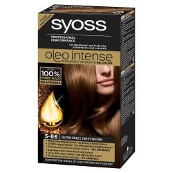 Schwarzkopf Syoss Farba do włosów Oleo 5-86 słodki brąz  1op.