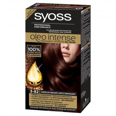 Schwarzkopf Syoss Farba do włosów Oleo 3-82 subtelny mahoń  1op.