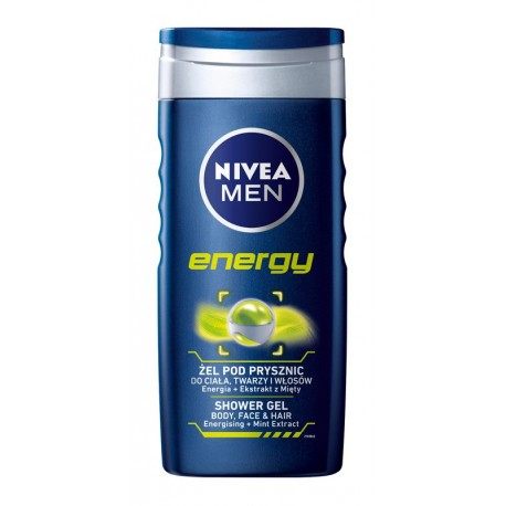Nivea Men Żel pod prysznic Energy 250 ml