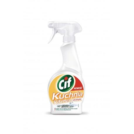 Cif Ultraszybki spray do kuchni 500 ml
