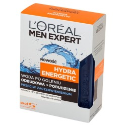 Loreal Men Expert Woda po goleniu Hydra Energetic przeciw podrażnieniom 100 ml