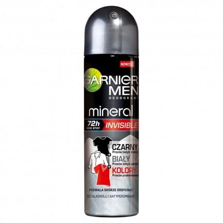 Garnier Mineral Men 72h Neutralizer Dezodorant w sprayu