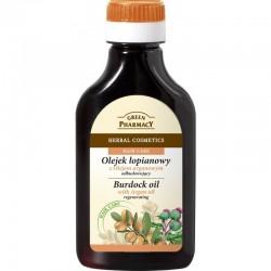 Green Pharmacy Olejek łopianowy z olejkiem arganowym odbudowujący