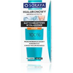 Soraya Hialuronowy Mikrozastrzyk Koncentrat-serum przeciwzmarszczkowe na dzień i noc
