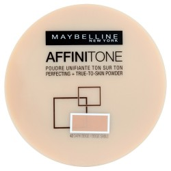 Maybelline Affinitone Puder w kamieniu nr 42 dark beige  9g