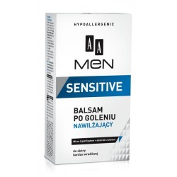 AA Men Sensitive Balsam po goleniu nawilżający  100ml