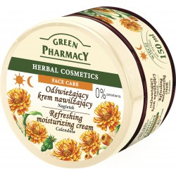 Green Pharmacy Herbal Cosmetics Krem do twarzy odświeżający z nagietkiem
