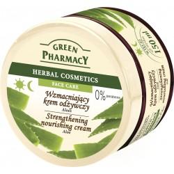 Green Pharmacy Herbal Cosmetics Krem do twarzy wzmacniający z aloesem