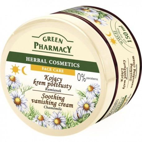 Green Pharmacy Herbal Cosmetics Krem do twarzy kojący z rumiankiem