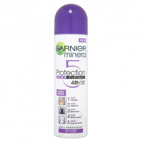 "Garnier Mineral Protection ""5"" Dezodorant spray Floral Fresh  150ml"