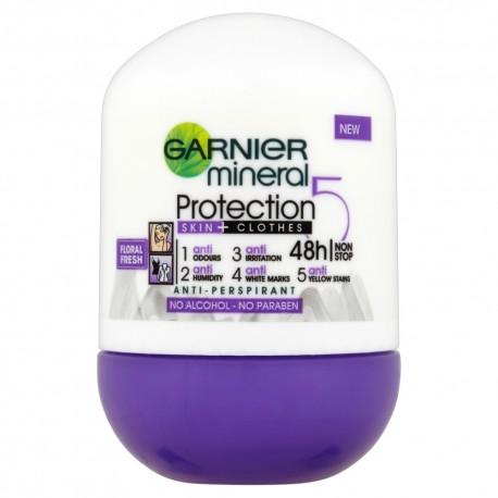 "Garnier Mineral Protection ""5"" Dezodorant w kulce Floral Fresh"