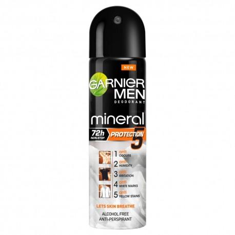 "Garnier Mineral Men Protection ""5"" Dezodorant spray 150ml"