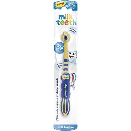 Aquafresh Szczoteczka Milk Teeth dla dzieci 0-2 lat  1szt