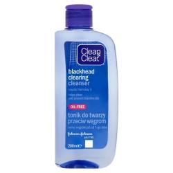 Clean&Clear Oczyszczający tonik do twarzy przeciw wągrom 200ml