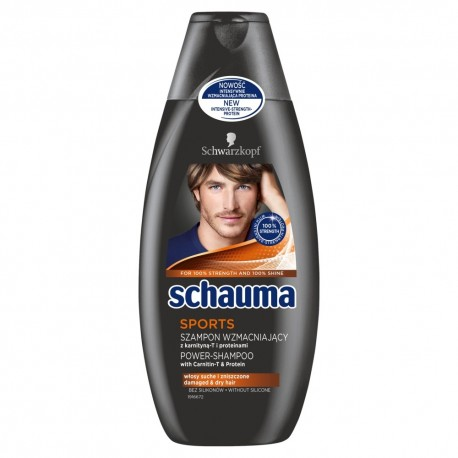 Schwarzkopf Schauma Szampon do włosów Sports For Men 400ml