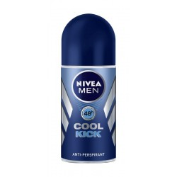 Nivea Dezodorant Antyperspirant COOL KICK roll-on męski 50ml