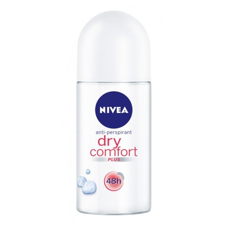 Nivea Dezodorant DRY COMFORT roll-on damski 50ml