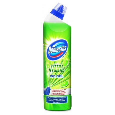 Domestos Total Hygiene Żel do WC Lime Fresh  700ml