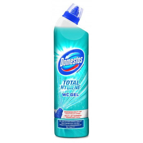 Domestos Total Hygiene Żel do WC Ocean Fresh  700ml