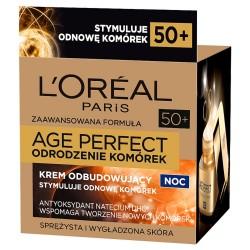 Loreal Age Perfect Odrodzenie Komórek Krem na noc odbudowujący 50ml