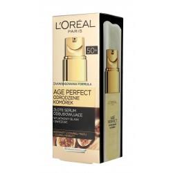 Loreal Age Perfect Odrodzenie Komórek 50+ Złote Serum odbudowujące 30ml