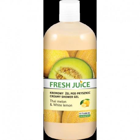 Fresh Juice Żel pod prysznic kremowy Melon i Biała Cytryna 500ml