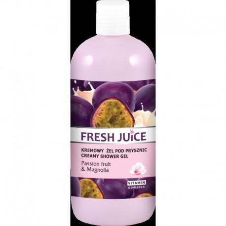 Fresh Juice Żel pod prysznic kremowy Passion Fruit i Magnolia 500ml
