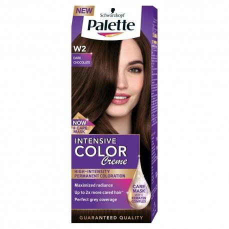 Palette Intensive Color Creme Krem koloryzujący nr W2-ciemna czekolada  1op.