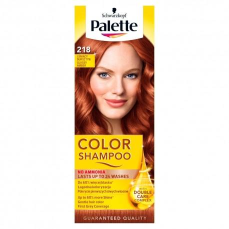 Palette Color Shampoo Szampon koloryzujący  nr 218 Lśniący Bursztyn  1op.