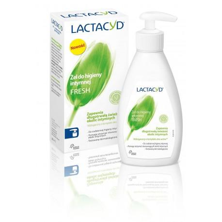 Lactacyd Fresh Żel do higieny intymnej odświeżający z pompką 200ml