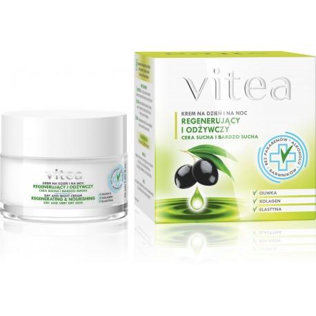 Vitea Krem regenerująco-odżywczy na dzień i noc -cera sucha i bardzo sucha  50ml