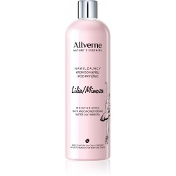 Allverne Nature's Essences Krem do kąpieli i pod prysznic Lilia-Mimoza  500ml