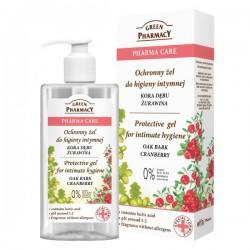 Green Pharmacy Pharma Care Żel do higieny intymnej ochronny Kora Dębu-Żurawina  300ml