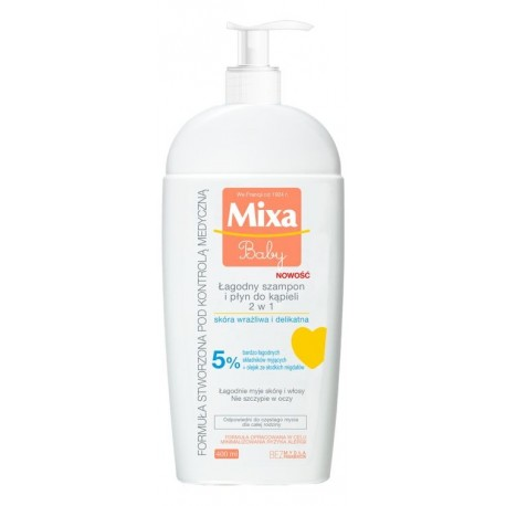 Mixa Baby Szampon 2w1  400ml