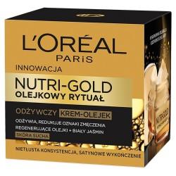 Loreal Dermo Nutri Gold Olejkowy Rytuał Krem-olejek odżywczy  50ml