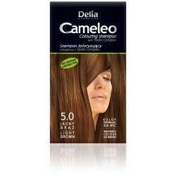 Delia Cosmetics Cameleo Szampon koloryzujący 5.0 jasny brąz