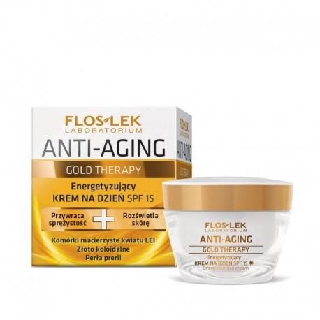 Floslek Anti Aging Gold Therapy Krem na dzień  50ml