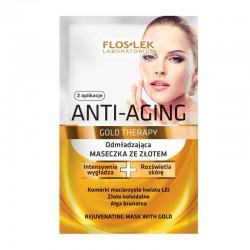 Floslek Anti Aging Gold Therapy Maseczka ze złotem  5ml x 2