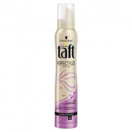Schwarzkopf Taft Perfect Flex Pianka do włosów ultra strong  200 ml