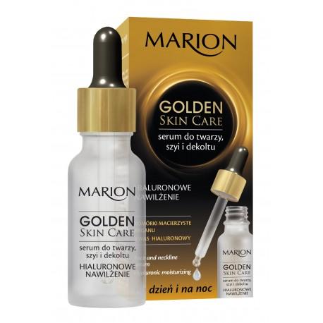 Marion Golden Skin Care Serum nawilżające do twarzy,szyi i dekoltu  20ml