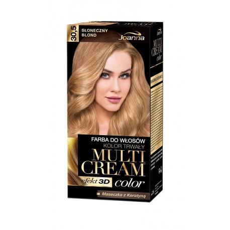 Joanna Multi Cream Color Farba nr 30.5 Słoneczny Blond