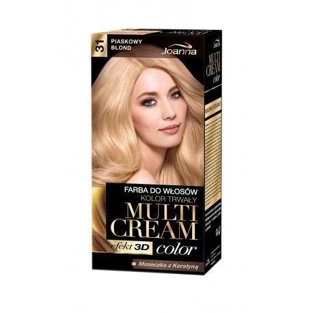 Joanna Multi Cream Color Farba nr 31 Piaskowy Blond