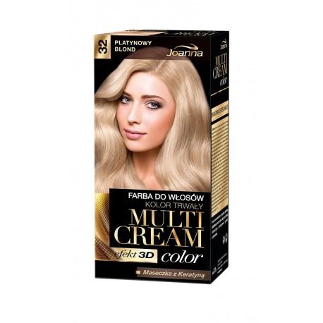 Joanna Multi Cream Color Farba nr 32 Platynowy Blond